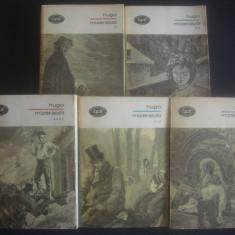 VICTOR HUGO - MIZERABILII 5 volume - Roman