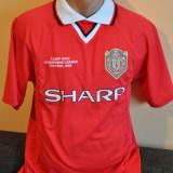 Tricou barbati - Tricou de colectie Manchester United - The Final Champions League 1999 -Camp Nou