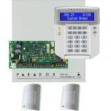 Sisteme de alarma - KIT DE ALARMA ANTIEFRACTIE PARADOX SP4000CU+K32LCD++2x476+