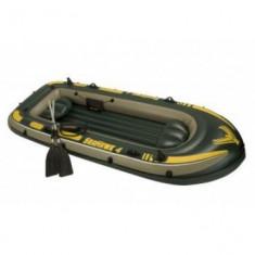 Barca gonflabila pentru 4 persoane Intex 68531 - Barca Pescuit