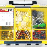 Trusa scule 1999 piese cu geanta mobila Smart Kraft SK-0007