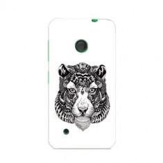 Husa Nokia Lumia 530 Slim Model Tiger Abstract