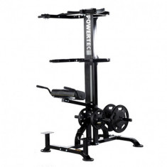 Aparat asistat spate, biceps, triceps Powertec - Aparat multifunctionale fitness