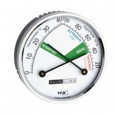 Higrometru si Termometru TFA cu indicator de confort