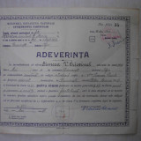 ADEVERINTA 1943, INVATAMANTUL PARTICULAR