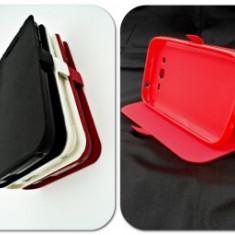 Husa Telefon Nokia - Toc FlipCover Stand Magnet Microsoft Lumia 550 ROSU
