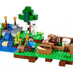 LEGO Minecraft - Cutie de crafting (21116)