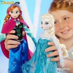 Set Papusi Anna si Elsa Frozen (Originale Disney) - Papusa