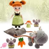 Papusa Anna Mini Animator cu accesorii