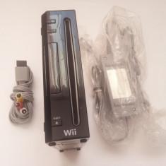 Nintendo Wii + alimentator si cablu tv originale consola joc tv