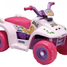 Peg-Perego ATV cu baterie Peg Perego QUAD PRINCESS - Masinuta electrica copii