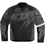 Geaca moto textil Icon Hooligan Spaztyk, negru Cod Produs: 28202941PE - Imbracaminte moto
