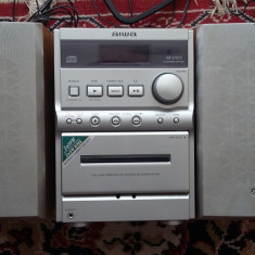 SISTEM AUDIO AIWA MODEL XR-M20 CITESTE CD/CASSETTE/RADIO, MADE JAPAN - CD player, 0-40 W