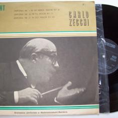 Disc vinil MOZART - Simfonia nr. 1 / nr. 42 / nr. 27 (ST - ECE 0911) - Muzica Clasica electrecord