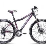 Bicicleta dama CTM Charisma 4.0, 2016, cadru 18, negru mat / roz Cod Produs: 037.26
