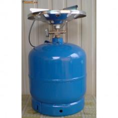 Butelie camping cu gaz : 8 litri - Aragaz/Arzator camping