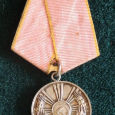 MEDALIA MUNCII RPR - Medalii Romania
