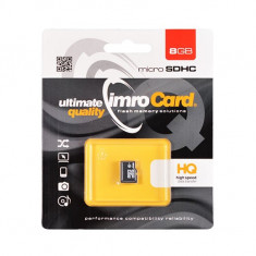 Card de memorie IMRO Micro SD 8GB - Card memorie