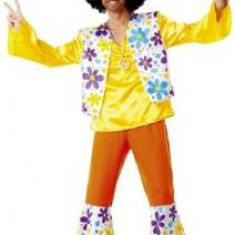 Costum adult Flower Power, mar 48-50 - Costum carnaval