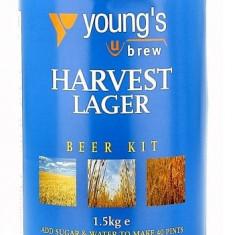 Young's Harvest Lager 40pt - kit pentru bere de casa 23 litri, Blonda