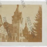 3283 - Prahova, SINAIA, Peles Palace - old postcard, real PHOTO - unused - Carte Postala Muntenia dupa 1918, Necirculata, Fotografie