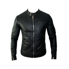Geaca Barbati Zara David Beckham Casual Cod Produs 9137, Marime: XS, Culoare: Negru, Piele