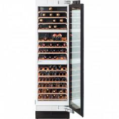 Vitrina de vinuri incorporabila Miele Master Cool, KWT 1612 Vi, deschidere stanga, 102 l, Clasa C, H 218 cm, Negru - Vitrina Frigorifica
