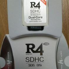 Card modare R4i dualcore rts ds dsi v1.45 - 3ds v11.0.0-33 R4 2016 + microsd 8G, Card memorie