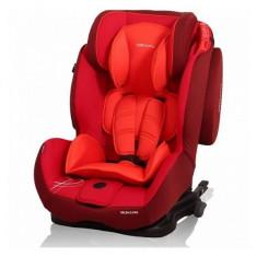 Scaun auto 9-36 kg cu Isofix Salsa Q Pro Rosu Coto Baby - Scaun auto copii grupa 1-3 ani (9-36 kg)
