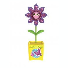 Set floare Magic Bloom si gandacel - galben - Clama de par Copii