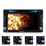 Radio Auna MVD-480 DVD CD MP3 USB SD AUX 6.2 bluetooth