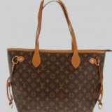Louis Vuitton - Geanta Dama, Culoare: Maro, Marime: Mare