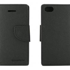 Husa Flip Cover Goospery YFAPPIPHC5NG My-Fancy neagra pentru Apple iPhone 5C - Husa Telefon
