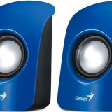 Sistem audio 2.0 Genius SP-U115 1.5W USB albastru