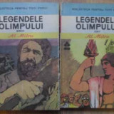 Legendele Olimpului Vol.1-2 Zeii. Eroii - Al. Mitru ,159075