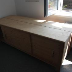 Pat masaj cu sertare depozitare - Masa masaj