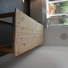 Pat masaj lemn - Masa masaj