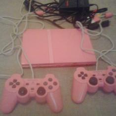 Consola PS2 SLIM - Editie limitata - ROZ - PlayStation 2 Sony