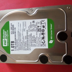HDD 1 TB sata / Hard Disk Western Digital 3.5 inch SATA 1TB WD - WD10EADS - 100% functional, 1-1.9 TB