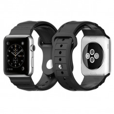 Curea de ceas Spigen Rugged Band Black for Apple Watch 42mm