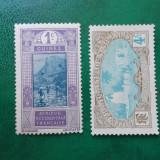 Franta colonii Guinea Somalia peisaje - nestampilate MNH