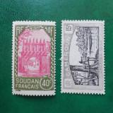 Franta colonii Sudan Camerun peisaje - nestampilate MNH