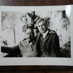 Foto criticul de arta George Oprescu si pictorul Jean Al. Steriadi - Harta Europei