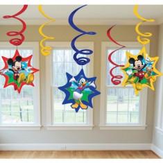 6 Spirale decorative petreceri Mickey Mouse Star