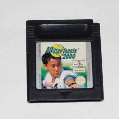 Joc consola Nintendo Gameboy Classic - All Star Tennis 2000 - Jocuri Game Boy Altele, Actiune, Toate varstele, Single player