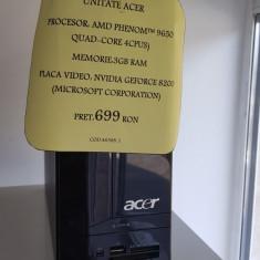 UNITATE ACER (LM03) - Sisteme desktop fara monitor Acer, AMD Phenom, 3 GB, 200-499 GB, Windows 7