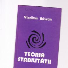 VLADIMIR RAZVAN -TEORIA STABILITATII