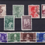 ROMANIA, LOT 3 SERII INTERBELICE, STAMPILATE - Timbre Romania