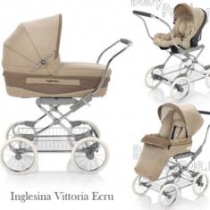 Inglesina Vittoria Ecru - Carucior copii 3 in 1