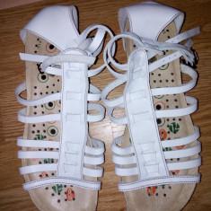 Sandale piele gladiator mar 37